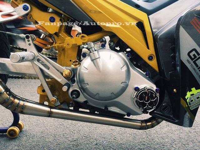 Ngắm Yamaha Exciter 135 độ hàng hiệu có trị giá 50 triệu của biker Gia Lai 12