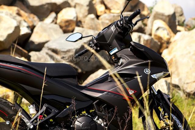 Tương tự như những lần thay áo trước, mức giá chào bán cho chiếc Yamaha Exciter 150 Matte Black vẫn giữ nguyên 45,5 triệu Đồng.