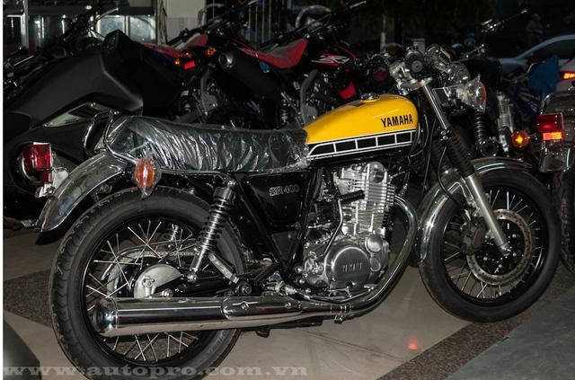 Được biết mức giá bán cho chiếc Yamaha SR400 bản đặc biệt là hơn 200 triệu Đồng.