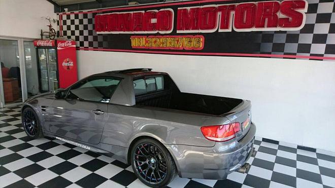 &lt;br /&gt;<br /> Có vẻ như chủ nhân của chiếc sedan hạng sang rất thích ý tưởng M3 phiên bản bán tải mà hãng BMW từng tung ra trong ngày cá tháng tư năm 2011. Dưới bàn tay của xưởng độ Mad Dog Racing, trò đùa ngày cá tháng tư của hãng BMW đã trở thành sự thật.&lt;br /&gt;<br />