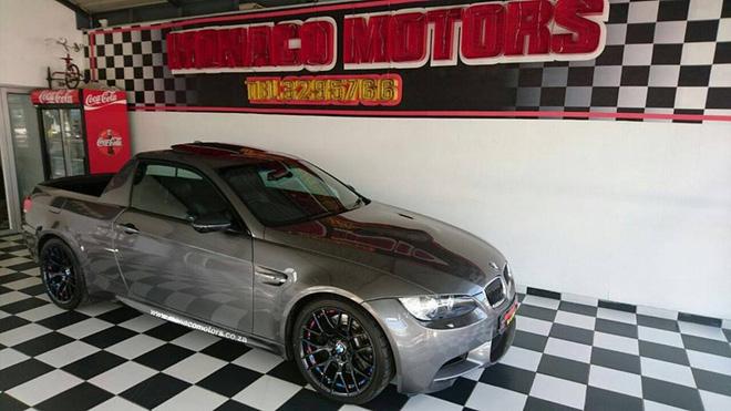 &lt;br /&gt;<br /> Hiện Mad Dog Racing vẫn giữ kín thông số kỹ thuật cụ thể của chiếc BMW M3 bán tải. Thay vào đó, Mad Dog Racing chỉ khẳng định đây là chiếc xe bán tải BMW M3 siêu nạp duy nhất trên thế giới. Có vẻ như xưởng độ đến từ Nam Phi không hề khoác lác.&lt;br /&gt;<br />