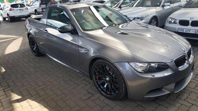 &lt;br /&gt;<br /> Nếu cảm thấy chiếc BMW M3 của mình có cốp chứa đồ không đủ dùng, bạn có thể học hỏi theo xưởng độ Mad Dog Racing đến từ Nam Phi. Theo yêu cầu của một chủ xe, Mad Dog Racing đã biến chiếc BMW M3 đời cũ thành xe bán tải.&lt;br /&gt;<br />