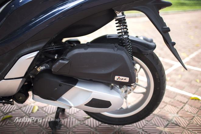 Động cơ iGet 125cc được trang bị trên Piaggio Medley ABS.