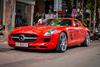 Mercedes-Benz SLS AMG 11,8 tỷ Đồng của tay chơi Bình Định tái xuất trên phố Sài thành