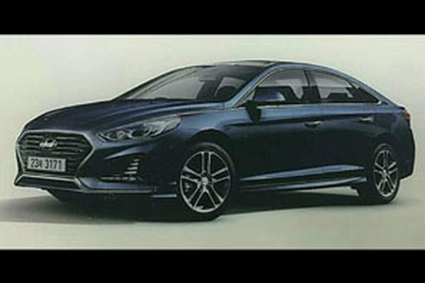 Hyundai Sonata 2018 ra mắt 2017