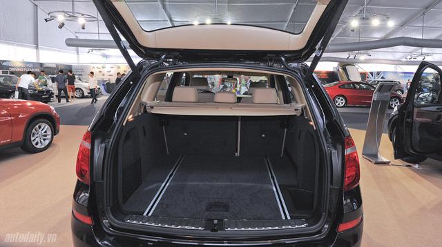 Các chi tiết nội thất bên trong BMW X3 diesel 2014