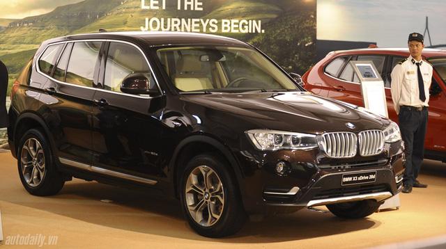 Tổng thể BMW X3 phiên bản máy dầu