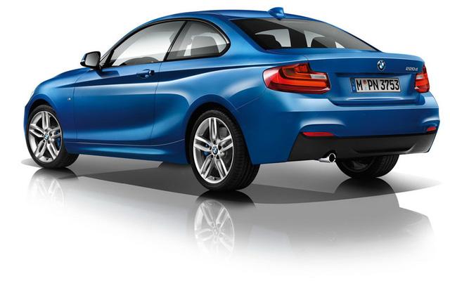 BMW 220d sẽ được bổ sung hệ dẫn động 4 bánh toàn thời gian xDrive tùy chọn.