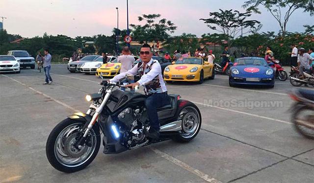 Harley-Davidson độ lạ mắt.