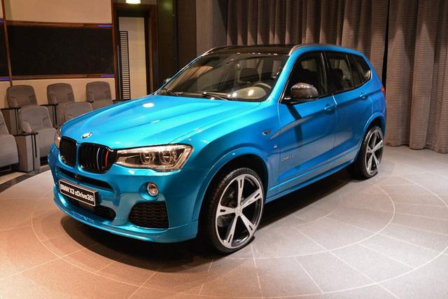 Chiếc BMW X3 đặc biệt tại Trung Đông.
