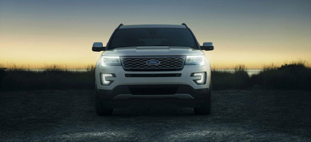 ford explorer 2017 - ngoai that