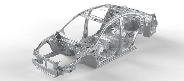 Khung xe gia cường áp dụng từ công nghệ an toàn của dòng xe đua Subaru trên đường đua Rally huyền thoại.