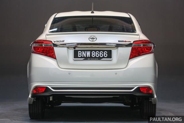 Toyota Vios 2016 chính thức ra mắt tại Malaysia, giá từ 415 triệu Đồng - Ảnh 7.