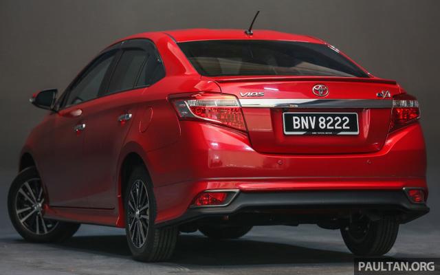Toyota Vios 2016 chính thức ra mắt tại Malaysia, giá từ 415 triệu Đồng - Ảnh 9.