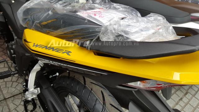Honda Winner 150 màu vàng được yêu thích nhất.