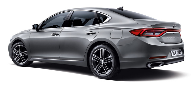 Sườn xe của Hyundai Azera thế hệ mới
