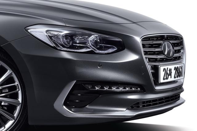 Đầu xe của Hyundai Azera thế hệ mới