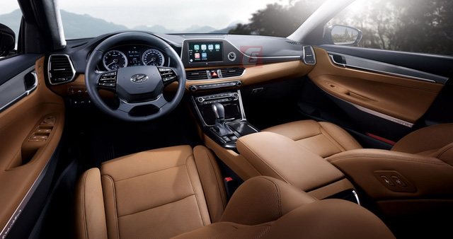 Nội thất bên trong Hyundai Azera thế hệ mới