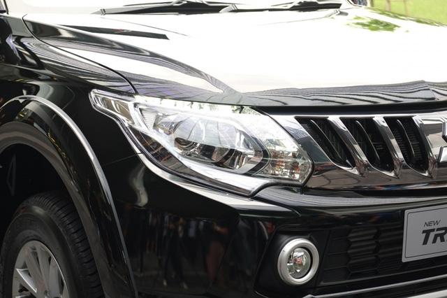 Mitsubishi Triton 2017 ra mắt tại Thái Lan, giá từ 489 triệu Đồng - Ảnh 3.