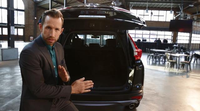 Cửa cốp tự động của Honda CR-V thế hệ mới