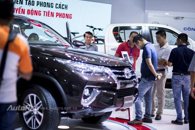 Triển lãm ô tô Việt Nam 2016 thực dụng hơn với các mẫu xe nhỏ dễ bán 8