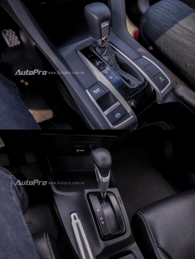So sánh trực quan Honda Civic 2016 và thế hệ trước đó - Ảnh 9.