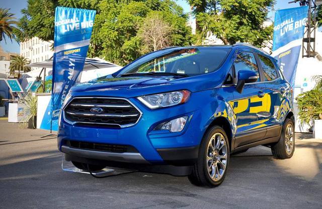 Hãng Ford đã kết hợp với DJ Khaled vốn được biết là ông vua của Snapchat để giới thiệu EcoSport 2018 trên mạng xã hội. Quyết định này của hãng Ford đã cho thấy rõ đối tượng mà EcoSport 2018 nhắm đến. Với dàn âm thanh cao cấp và những hệ thống kết nối hiện đại khác, Ford EcoSport 2018 được kỳ vọng là mẫu xe hoàn hảo cho giới trẻ muốn một phương tiện di chuyển nhỏ gọn nhưng đầy đủ công nghệ mới nhất.