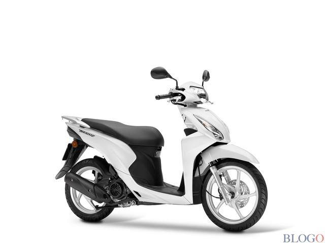 Honda Vision 2017 nhập khẩu giá bao nhiêu? Có những màu nào?