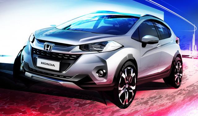 Hình ảnh phác họa chính thức của Honda WR-V