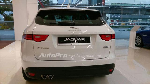 Jaguar F-Pace sẽ ra mắt Việt Nam vào tháng 11 tới