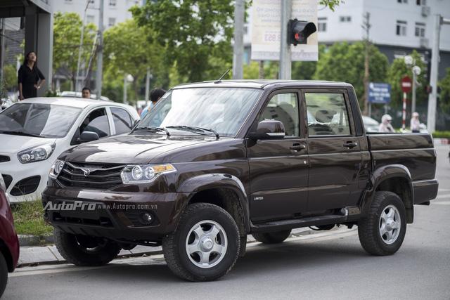 Về mặt thiết kế bên ngoài, Uaz Pickup được nhiều khách hàng đánh giá là khá lành và không đến nỗi tệ.