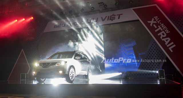 Nissan X-trail thế hệ thứ 3 chính thức được ra mắt tại Việt Nam.