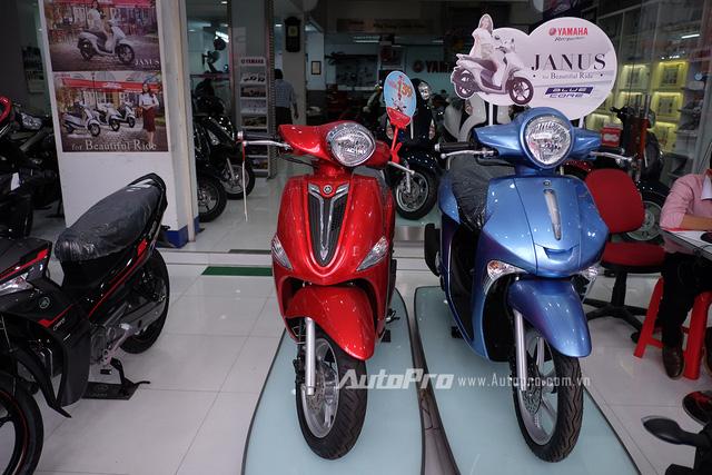 Yamaha Janus có mức giá lên tới 31 triệu đồng tại một số đại lý.
