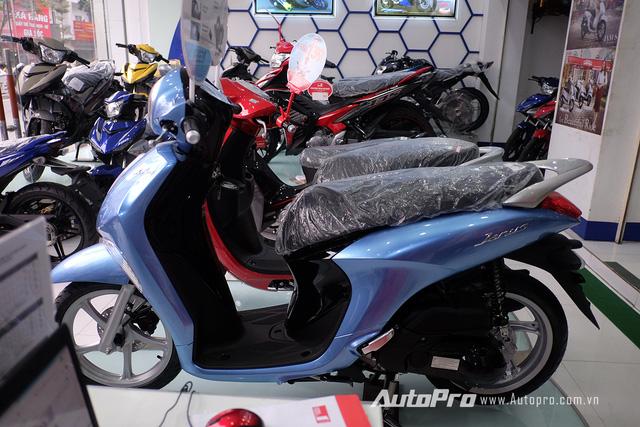 Mẫu xe tay ga Yamaha Janus mới ra mắt thị trường Việt Nam.