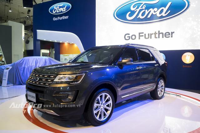 Ford Explorer lần đầu tiên trình làng tại thị trường Mỹ trong triển lãm Los Angeles 2014. Trái tim của Ford Explorer 2016 là khối động cơ EcoBoost, 4 xi-lanh, dung tích 2.3 lít, tương tự như chiếc xe thể thao hàng hot tại thị trường Việt Nam là Ford Mustang 2015.
