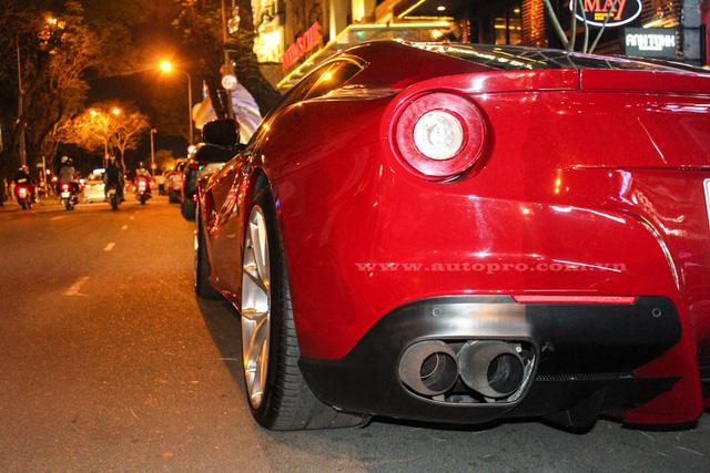 Ferrari F12 Berlinetta độ độc nhất Việt Nam về tay Cường Đô-la - Ảnh 6.