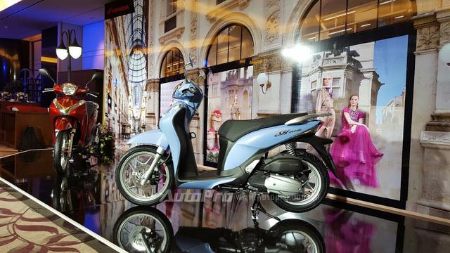 Không chỉ ra mắt SH 125i/150i 2017, Honda Việt Nam còn giới thiệu SH Mode 125 mới - Ảnh 3.