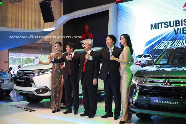 Outlander và đặc biệt là Pajero Sport Premium là hai sản phẩm nổi bật tại triển lãm VMS 2016 của Mitsubishi Việt Nam.