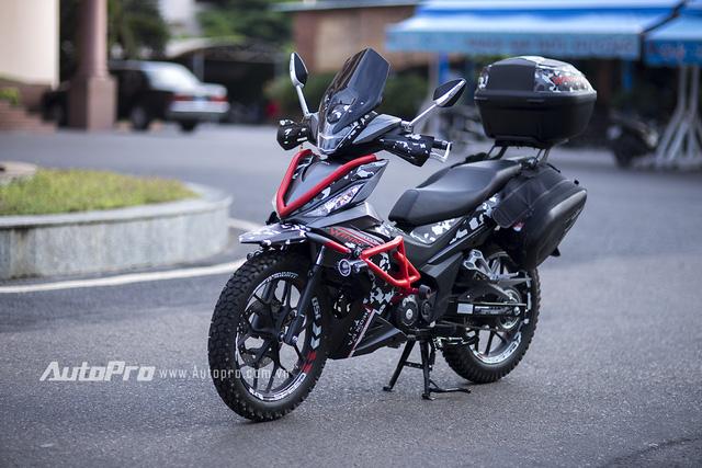 Dựa trên ý tưởng về những chiếc xe Adventure, đồng thời lấy cảm hứng từ bản độ chính hãng Supra GTR150 của láng giềng Honda Indonesia, Honda Winner 150 Adventure mang phong cách mạnh mẽ và tăng độ tiện dụng khi di chuyển trên đường trường.