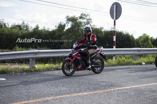 Đồng hành cùng Honda Winner 150 trên hành trình phượt 735km.