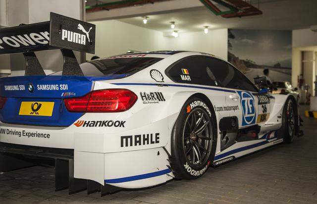 Cận cảnh xe đua BMW M4 DTM sẽ xuất hiện tại VIMS 2016 - Ảnh 8.
