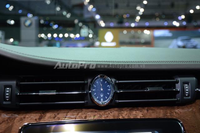 Đánh giá xe Maserati Quattroporte 2017 kèm hình ảnh chi tiết nội ngoại thất