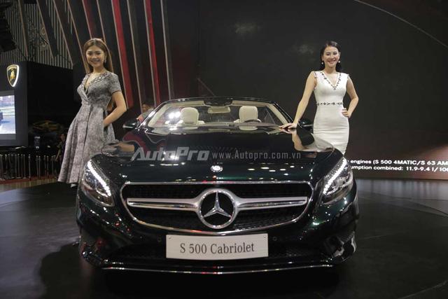 Mercedes-Benz gây choáng ngợp VIMS 2016 bằng dàn xe hot và nhan sắc Hoa hậu Kỳ Duyên - Ảnh 4.