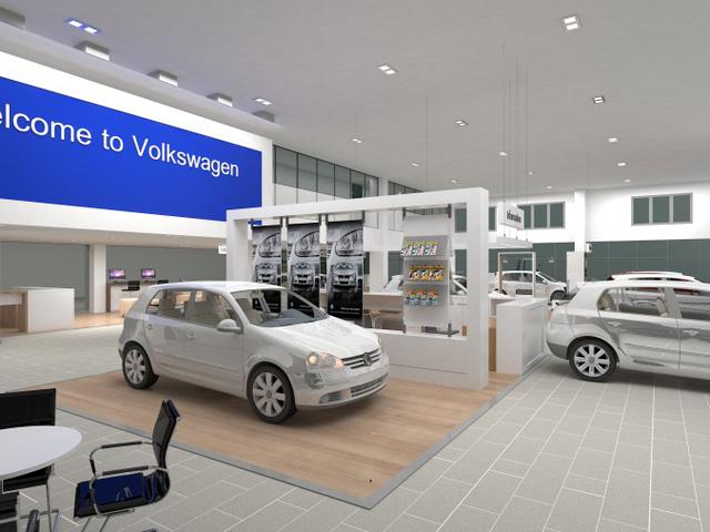 Showroom 3S VW Cộng Hòa sẽ chính thức hoạt động vào quý 2/2017