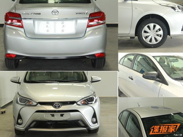 Bản cao cấp của Toyota Yaris L 2017 sẽ có đèn sương mù trên cản va trước.