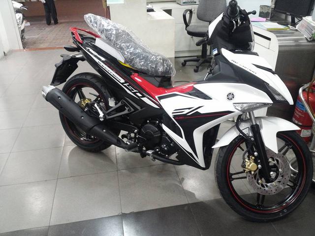 Yamaha Exciter 150 RC 2017 màu trắng-đỏ...