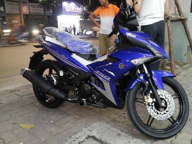 Yamaha Exciter 150 phiên bản GP được cho là thuộc đời 2017.