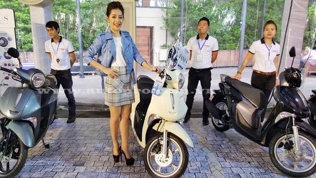 Đại sứ thương hiệu cho dòng xe tay ga Janus là Chi Pu, nữ diễn viên được nhiều bạn trẻ yêu mến với vẻ đẹp trẻ trung và năng động.