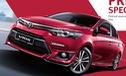 Toyota Vios 2016 thể thao hơn ra mắt tại Malaysia, giá 503 triệu Đồng