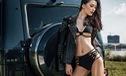 Mỹ nữ thiếu vải thuần phục ông hoàng việt dã Mercedes-Benz G63 AMG